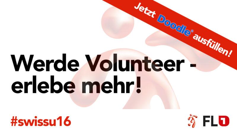 Sei ein Volunteer – erlebe mehr!