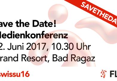 Save the Date: Medienkonferenz, 12. Juni 2017, 10.30 Uhr